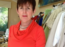 A favourite knit top with cowl neck, great colour